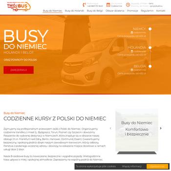 Przewóz osób do Holandii - Bydgoszcz, Toruń, Grudziądz